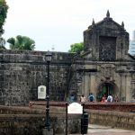 The ruin of Fort Santiago, Manila
