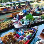 Bangkok Floating Market and Rose Garden Tour