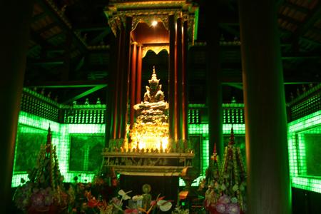 Emerald Buddha Image in Bangkok