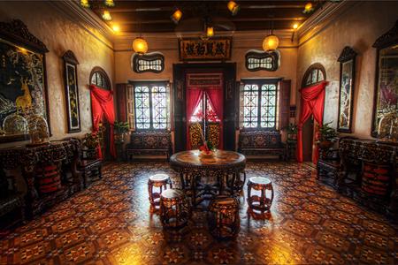 Inside Pinang Peranakan Mansion