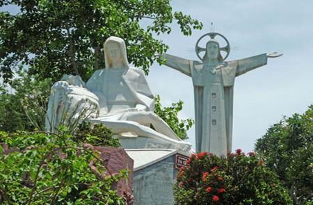 Jesus Statue in Nui Nho, Vung Tau