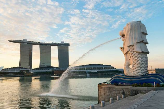 Merlion Park - Singapore Sightseeing shore excursions