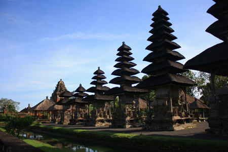 Meru Temple in Lombok, Indonesia.