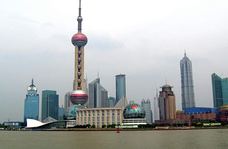 Oriental Pearl TV Tower, Shanghai.