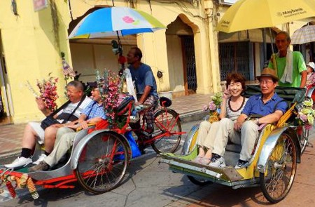 Penang Heritage Walk and Trishaw