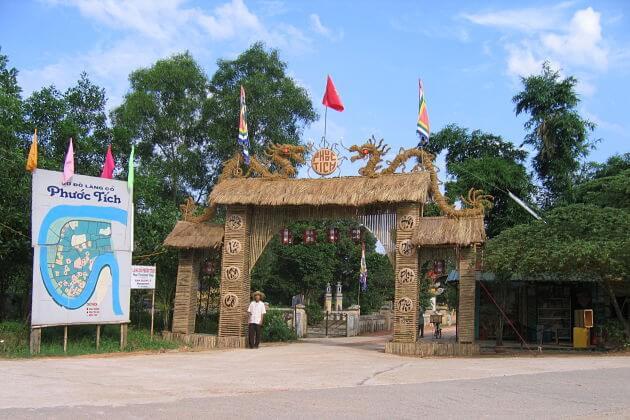 Phuoc Tich Village - Hue shore excursions