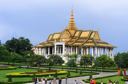 Royal Palace in Phnom Penh.