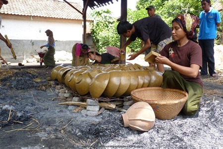Terracotta makers at Banyumulek, Lombok