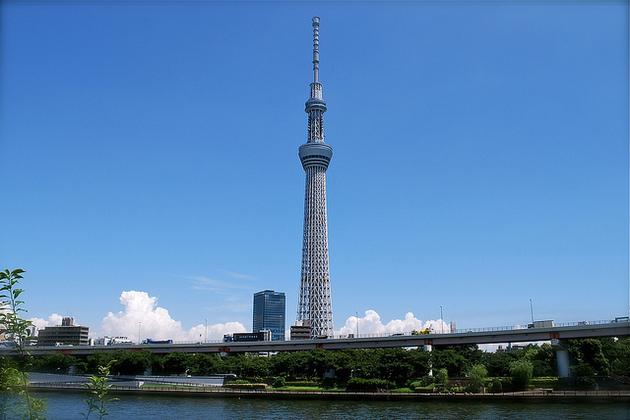 Tokyo shore excursions - Skytree