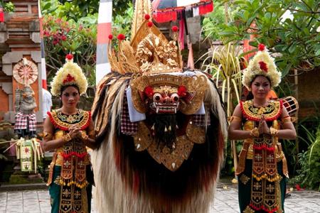 Traditional Barong Dance