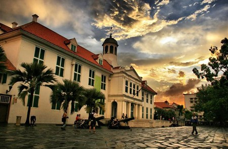 Old Batavia City in Jakarta, Indonesia.