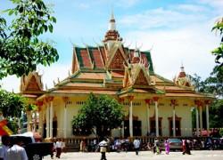 Wat Kraom (Lower Wat), Sihanoukville, Cambodia.