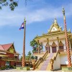 Wat Leu pagoda in Sihanoukville