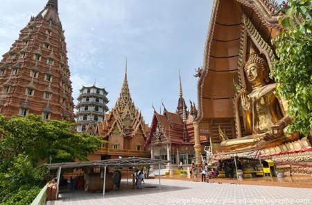 Wat Tham Suea (Tiger Cave temple) in Krabi.