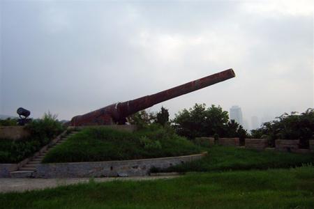 Canon in Yantai East Fortress