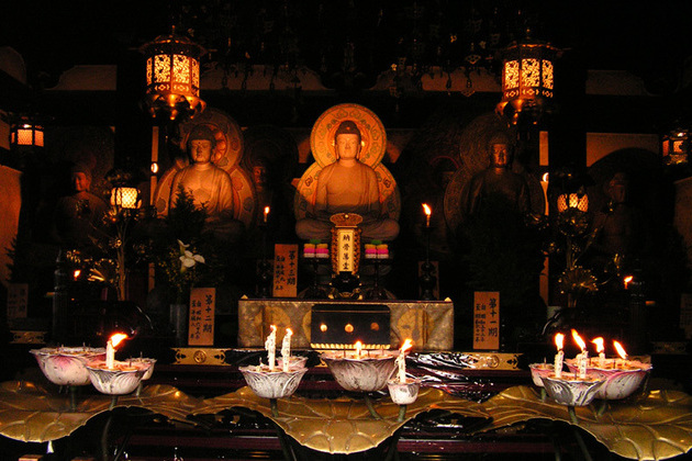 Shitenno-ji Temple inside