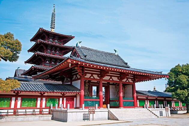 Shitennoji-Temple-Osaka-shore-excursions