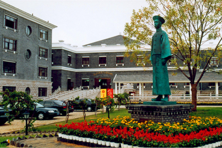 The Sculpture in Changyu Wine Culture Museum