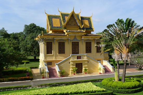 Hor Samran Phirun, Royal Palace, Phnom Penh