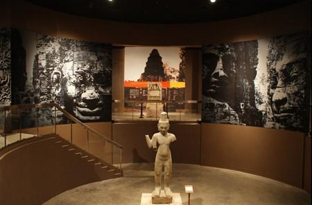 Inside Angkor National Museum