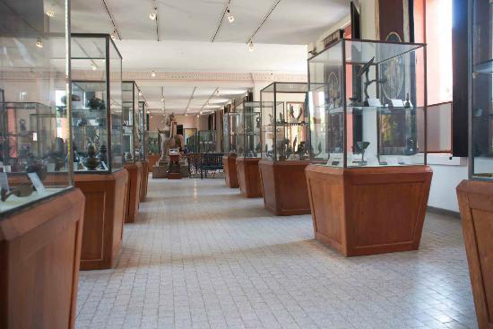 Inside the halls of the National Museum