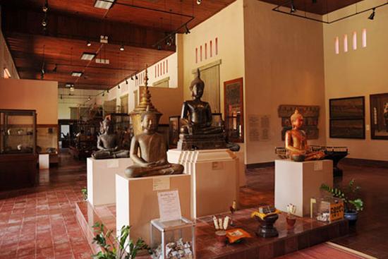 Interior Corridor of the Cambodian National Museum