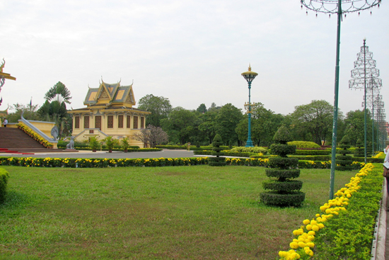 The Gardens in Royal Palace