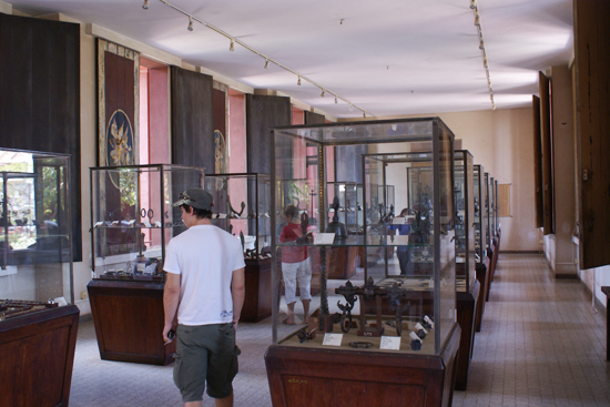 Visitors at National Museum of Cambodia