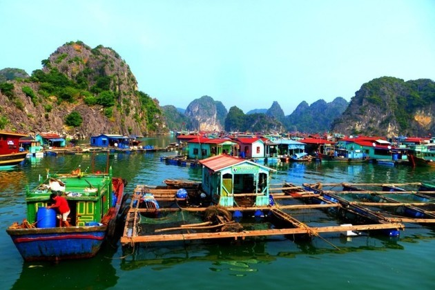Ba Hang Floating Fishing Village