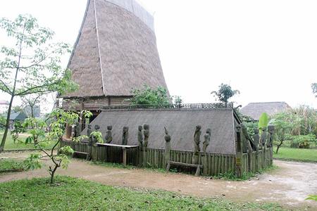 Giarai Tomb in Vietnam Museum of Ethnology