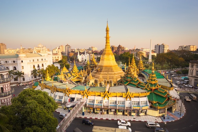 Essence of Yangon Day Tour