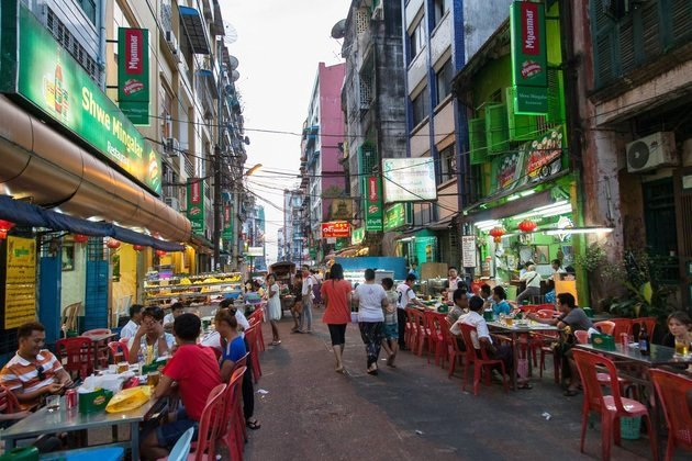 Yangon China Town