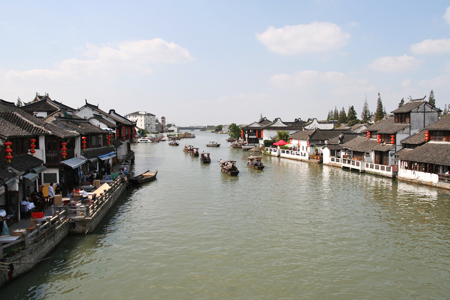 Zhujiajiao Ancient Water Town