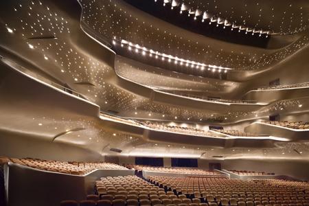 Inside Guangzhou Opera House