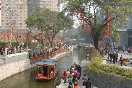 Litchi Bay, Guangzhou, China