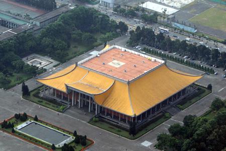 Panoramic view of Sun Yat Sen Memorial Hall