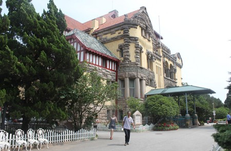 Side view of German Governor's Mansion, Qingdao