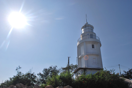 Vung Tau lighthouse offer a panoramic view of the city