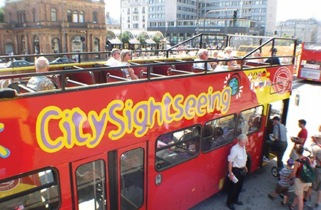 Copenhagen Shore Excursion: City Sightseeing Hop-On Hop-Off Tour