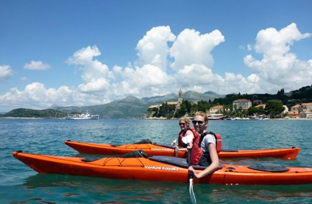 Dubrovnik Shore Excursion Kayak and Snorkeling Small-Group Tour