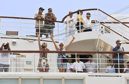 Interesting and lovely complaints of cruise ship passengers