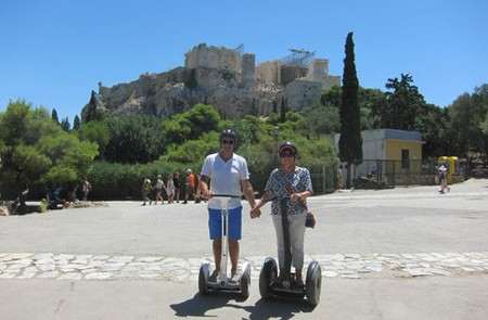 Athens Shore Excursion Segway Trip