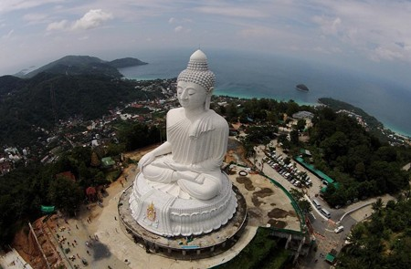 Panoramic view of Big Buddha