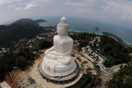 Panoramic view of Big Buddha