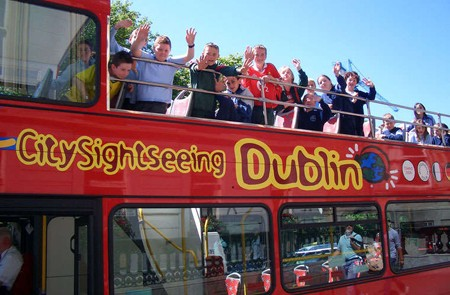 Dublin Shore Excursion City Sightseeing Hop-On Hop-Off Sightseeing Tour