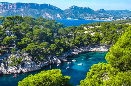 Private Trip in Aix en Provence & Cassis Creeks