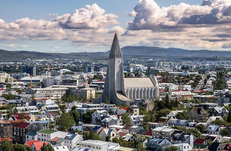 Reykjavik Shore Excursion City Sightseeing Hop-On Hop-Off Tour