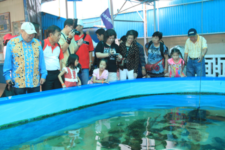 Cruise tourists visit Institute of Oceanography in Nha Trang