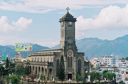 Panoramic view of Nha Trang Stone Church
