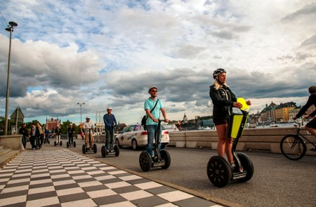 Stockholm Shore Excursion Segway Tour & City Views in Södermalm